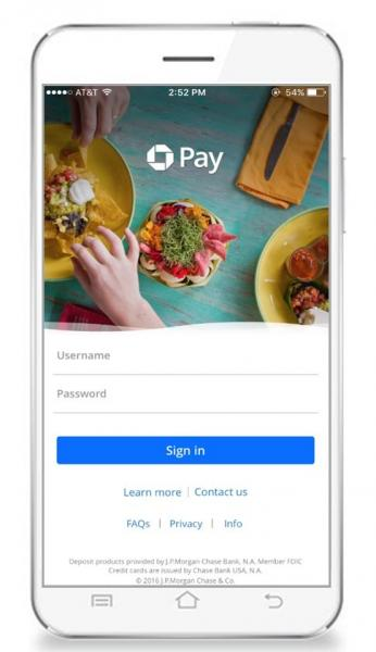 Big Data, Mobile Marketing, Online Payments via Chase Bank pushing